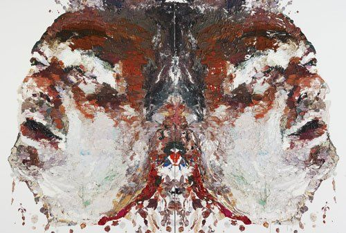 Ben Quilty: Jimmy Barnes – there but for the grace of God no. 2 :: Archibald Prize 2009 :: Art Gallery NSW