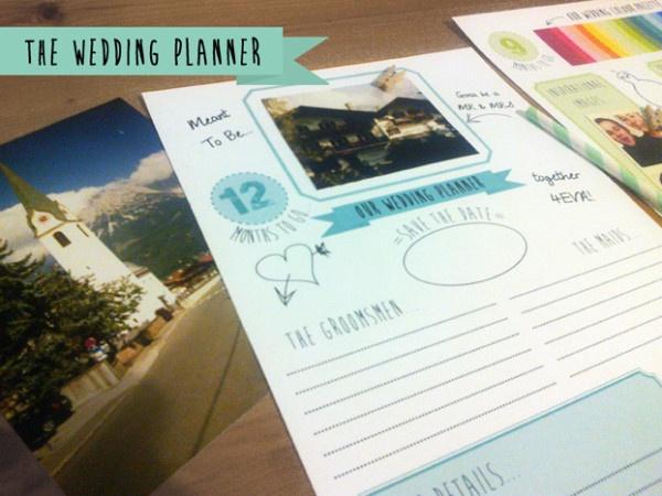 20 best wed planners images on Pinterest Wedding planer Wedding