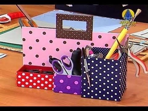 Sabor de Vida | Kit de Cartonagem - 26 de Outubro de 2012 - YouTube