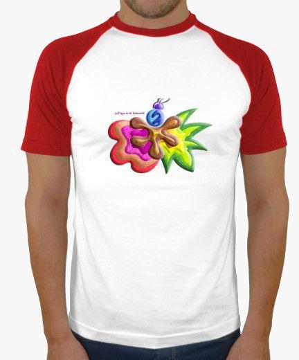 Camiseta de hombre Explosión de Color - Man t-shirt Color Explosion - #Shop #Gift #Tienda #Regalos #Diseño #Design #LaMagiaDeUnSentimiento #MaderaYManchas #Man #Hombre #tshirt #Cool #colors #baseball