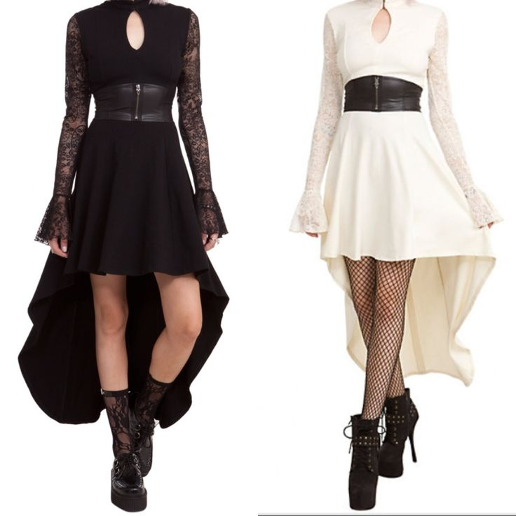 Mortal Instruments: City of Bones - Isabelle Lightwood's Club Dress in Black White at Hot Topic