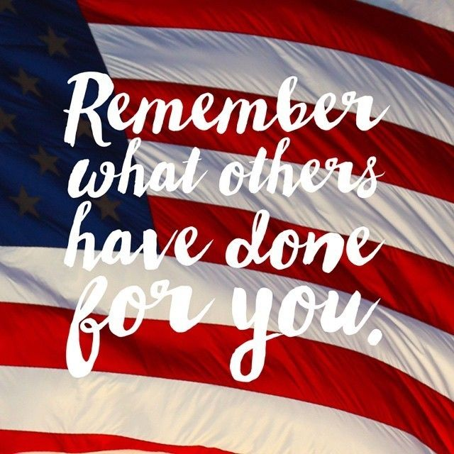 In honor of Memorial Day coming up, we hope you will keep this in mind throughout the week! #InSearchOfLiberty #Freedom #America…