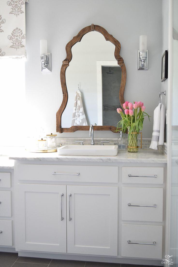 Best 25 Bathroom Mirror Redo Ideas On Pinterest Diy Mirror Frame Bathroom Interior Bathroom