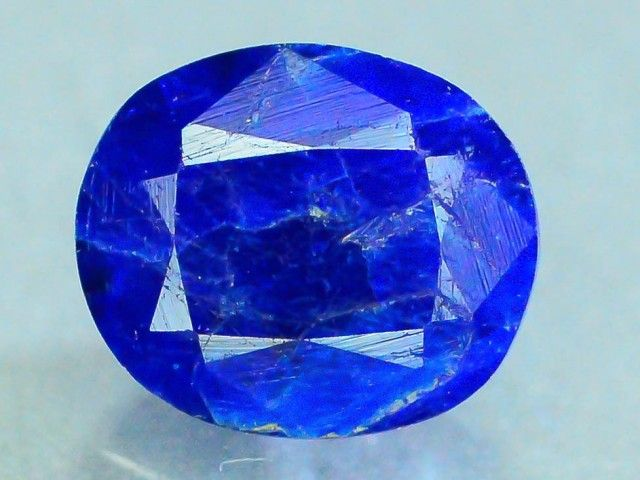 Rare 0.680 ct Natural Hauyne w Pyrite L.8 Collector's Gem