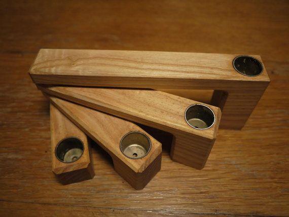 Kerzenständer Holz Anleitung ~ Kerzenständer aus Holz der Fresno Faltung Inspiration Nordic Es ist