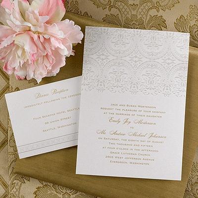 67 best Carlson Craft Wedding Invites images on Pinterest Craft