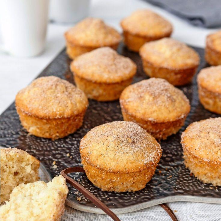 Muffins som smakar som nyfriterade munkar.