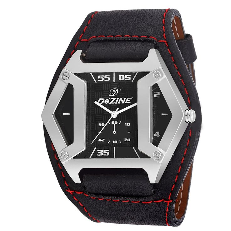 Watch @499 Buy Now Dezine-BLK-BLK Analog Watch-For Men On Looksgud.in #watch