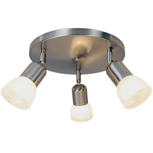 AF Lighting 617620 11-Inch D by 4-3/4-Inch H Contemporary Lighting Collection Canopy Ceiling Fixture, Brushed Nickel AF Lighting,http://www.amazon.com/dp/B005BPBWLU/ref=cm_sw_r_pi_dp_NLsGtb129YR276RM
