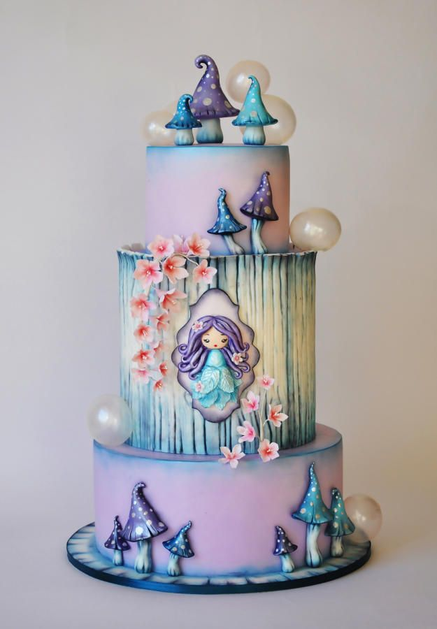 Enchanted - Cake by ArchiCAKEture