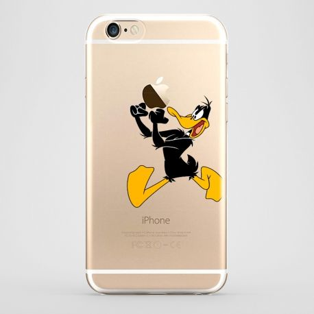 Funda iPhone 6 Pato Lucas  Transparente #iphone6 #fundaiphone6 #iphone6plus #accesoriosiphone6 #tutiendastore #patolucas