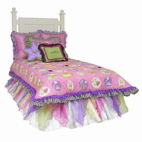 8 Best Girl 39 S Bedding Images On Pinterest Girl Bedding Home And Bedroom