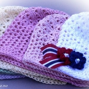 Our Mollie hat for kids. Also an attached mollie flower broche for our national day 17. may. www.dottiedee.no