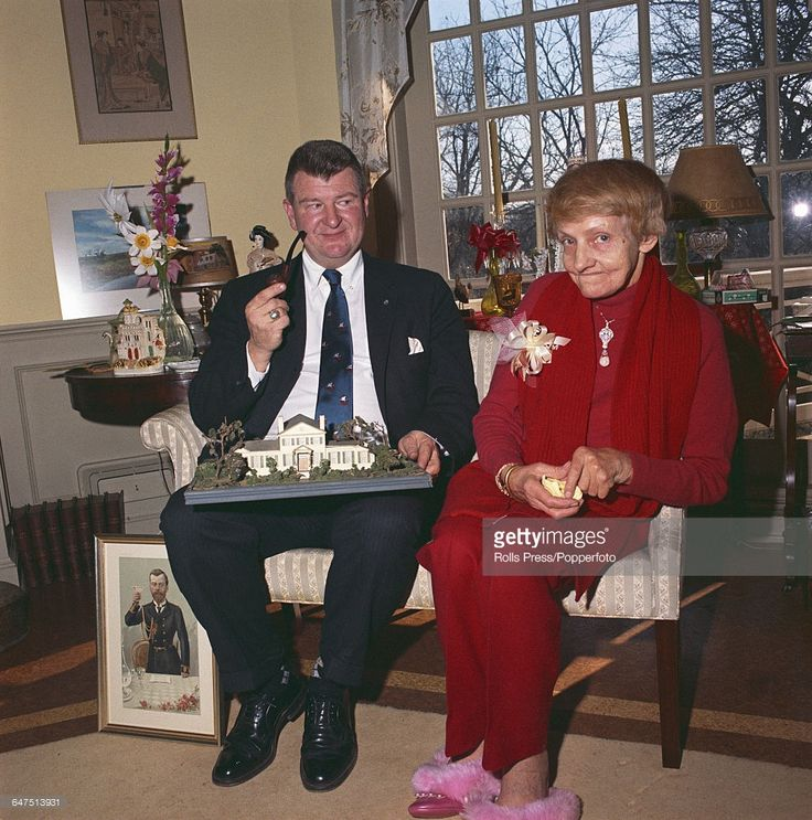 Anna Anderson and her husband John E. Manahan. Circa 1968