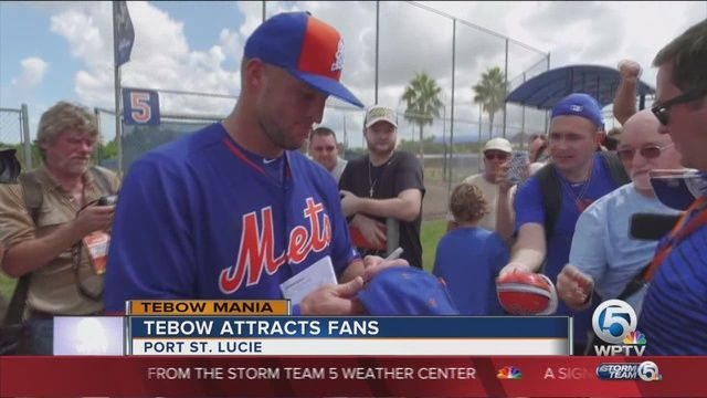 """Tim Tebow Is Doing Exactly What He Was Supposed To Do:  Forget about batting average, home runs, or """"esoteric statistics."""" Tim Tebow is killing it in a very important category."""