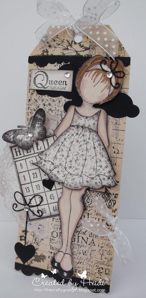 Ali-Craft Blog: Prima Mixed Media Doll Project by Heidi