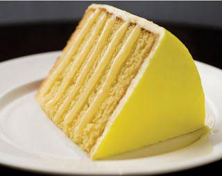 Lemon doberge cake.  Pair with a lemon poured fondant recipe for the real deal.  Another good doberge link: http://herbsaint.wordpress.com/2006/04/19/lemon-option-for-doberge-cake/.