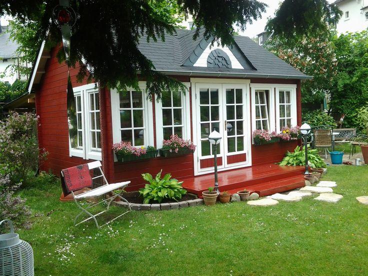 Skandinavisches Gartenhaus 62 besten gartenhäuser schwedenrot bilder auf