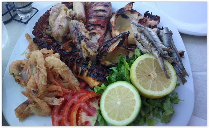 Tasty seafood dishes at Margarita