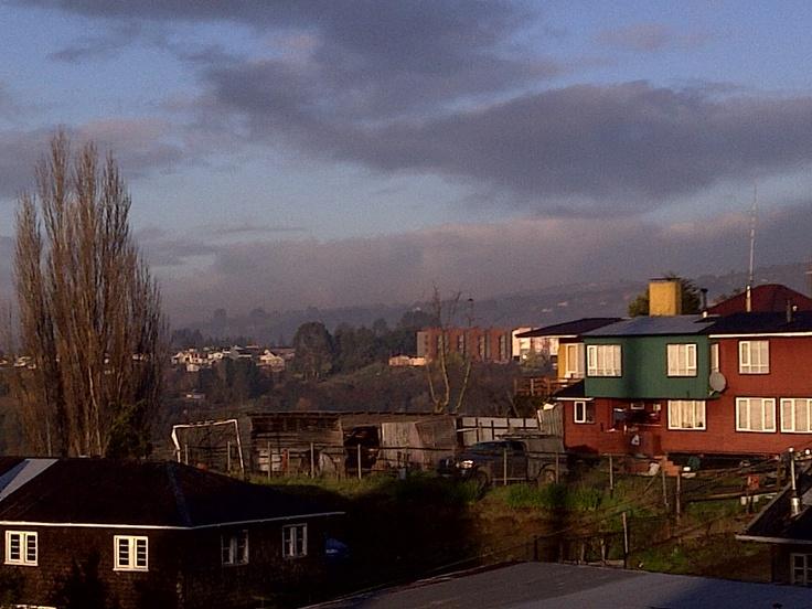 View of Castro City, Chiloe - Chile