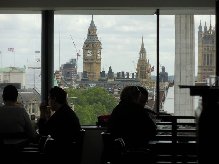 View from the Portrait Gallery restaurant