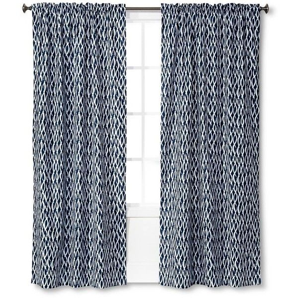 Room Essentials Light Blocking Curtain Panel (13 CAD) ❤ liked on Polyvore featuring home, home decor, window treatments, curtains, target curtains, target curtain panels, rod pocket curtain panels and light blocking curtains