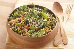Salade épicée à la mode du Sud-Ouest