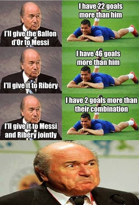 Sorry messi your still the best player