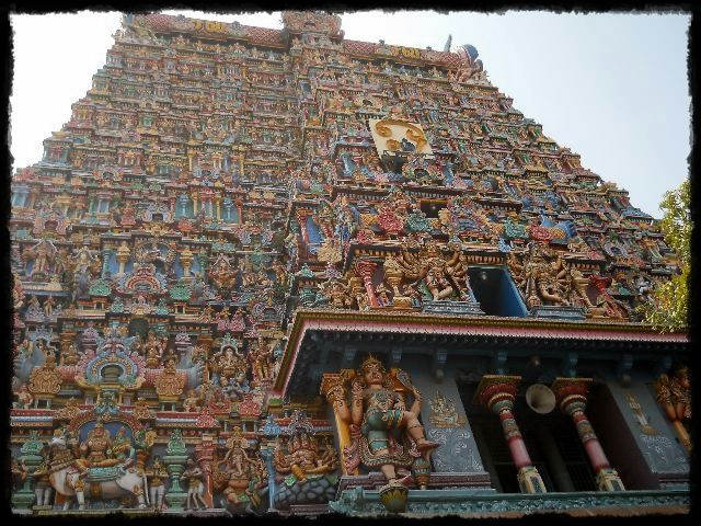"""Ammam Meenakshi Temple, Madura 