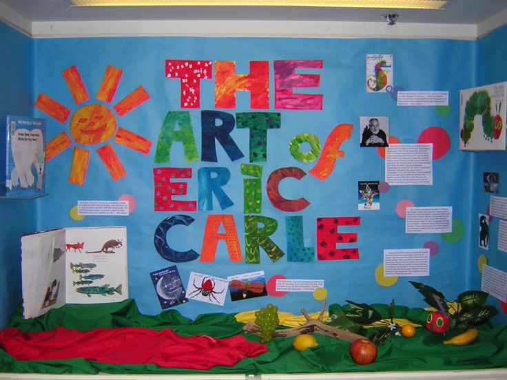 Eric Carle door decorating for next year???