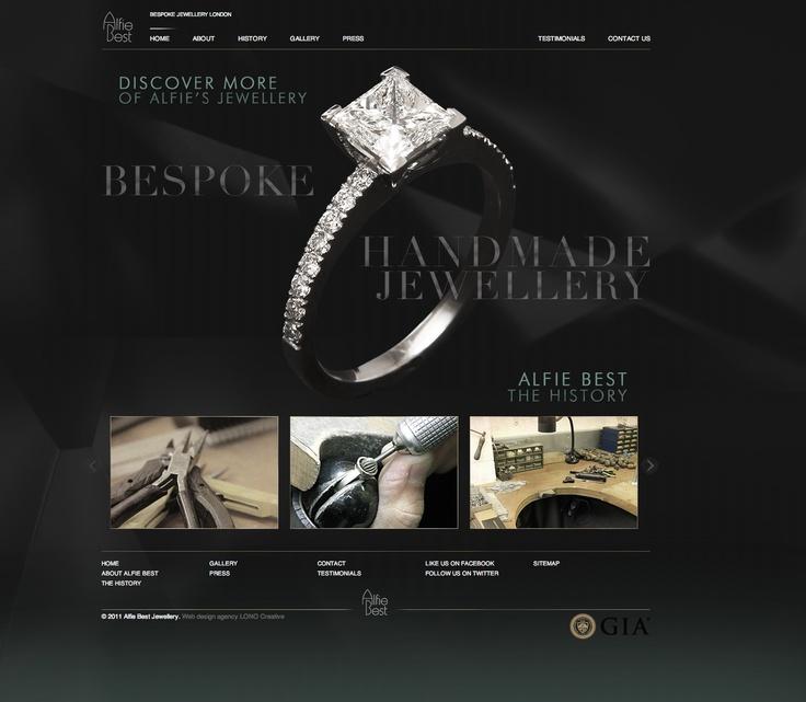30 best Jewellery web sites images on Pinterest Website designs