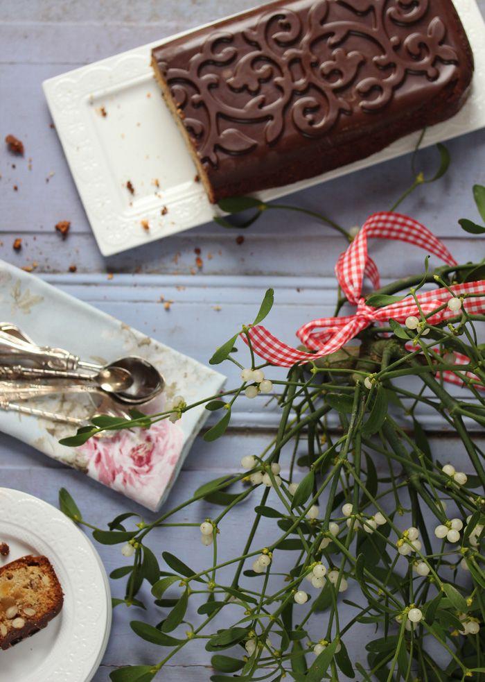 Lisbeths Cupcakes Weihnachtlicher Früchtekuchen mit Lotus Glasur;)  Fruitcake
