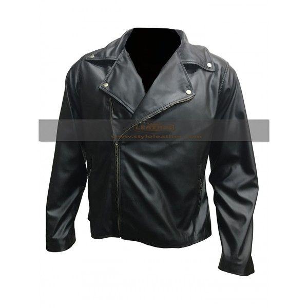 One for The Road Alex Turner  Black Biker leather jacket