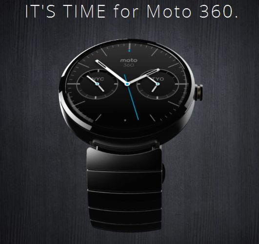 Moto 360 Google Smartwatch is here