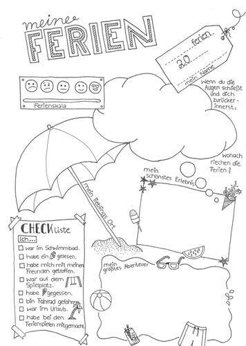 Ferien Fragebogen – Schreibanlässe/Erzählstütze nach den Ferien #schulstartmitLMP2019 – Unterrichtsmaterial in den Fächern Fachübergreifendes