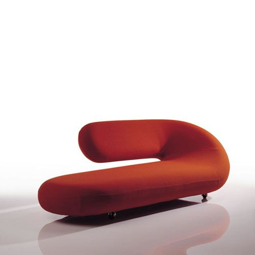 contemporary chaise lounge chairs | ... Modern Chaise Lounge by Geoffrey Harcourt | Stardust  sc 1 st  Pinterest : cool chaise lounge chairs - Sectionals, Sofas & Couches
