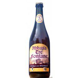 Abbazia Tre Fontane Birra dei Monaci (8,5%vol) - Unfiltered ale brewed with eucalyptus grown by the abbey.