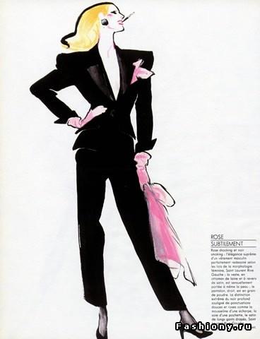 Business woman jacket sketch