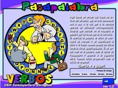 PASAPALABRA-VERBOS