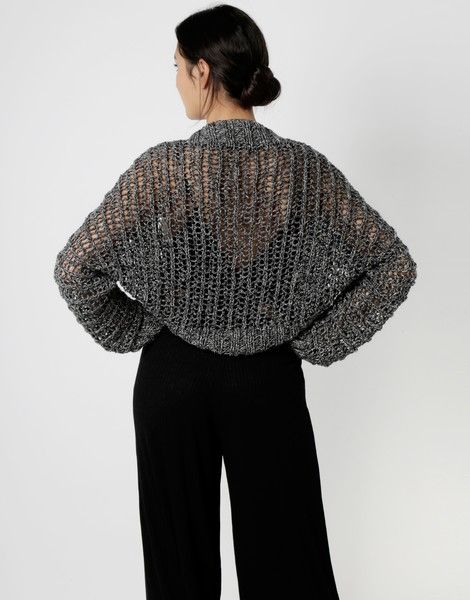One Drop Shrug | Knit it | woolandthegang.com