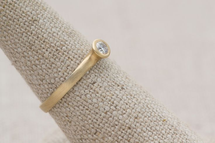 Photo of Small Sculptural Enagagement Ring