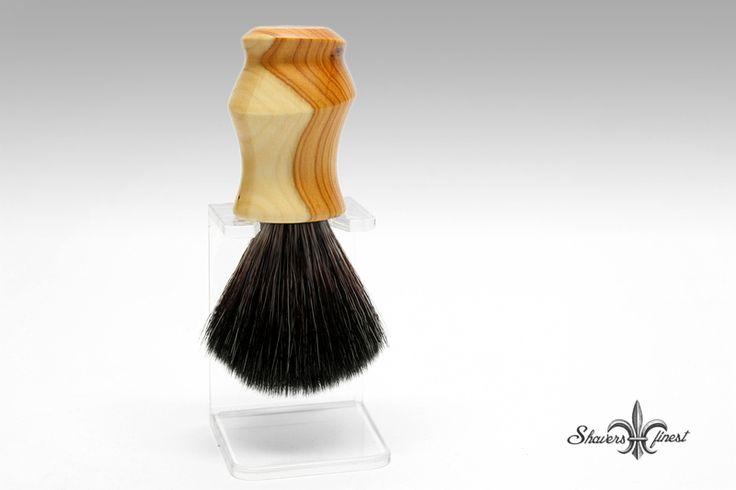 Männerpflege - Rasierpinsel VEGAN Holz gedrechselt The Eccentric - ein Designerstück von EyeShop bei DaWanda