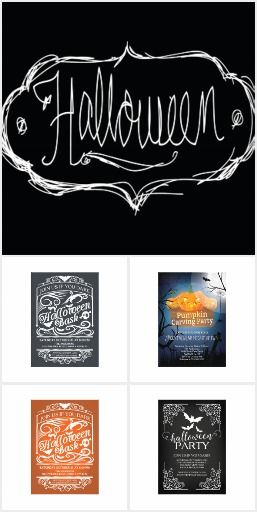 52 best halloween party invitations images on pinterest halloween fun spooky halloween 2015 showcasing haunted houses bats spiders things that go bump in the night stopboris Choice Image