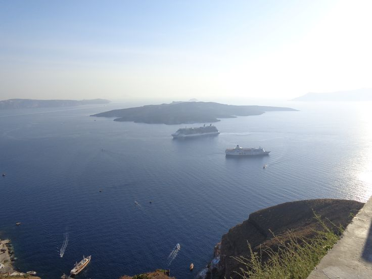 View from Thira