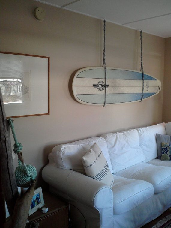 Rope Rack by KnottyWolf on Etsy, $50.00