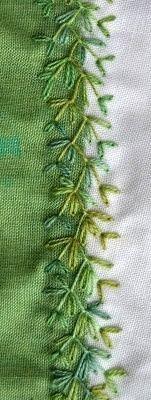 Silk & Lace & Wool — herminehesse: Stitches