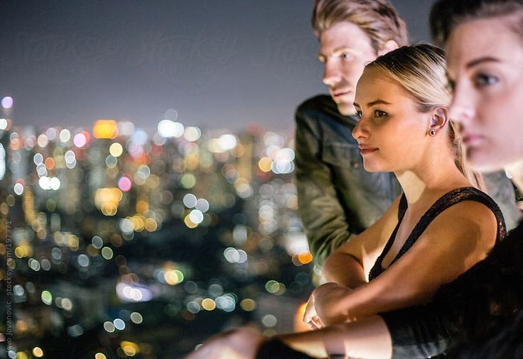 Amazing view over the city - Good friends by Jovo Jovanovic