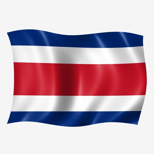 Costa Rica Waving Flag Costa Rica Independence Day Costa Rica Costa Rica Flag Flag