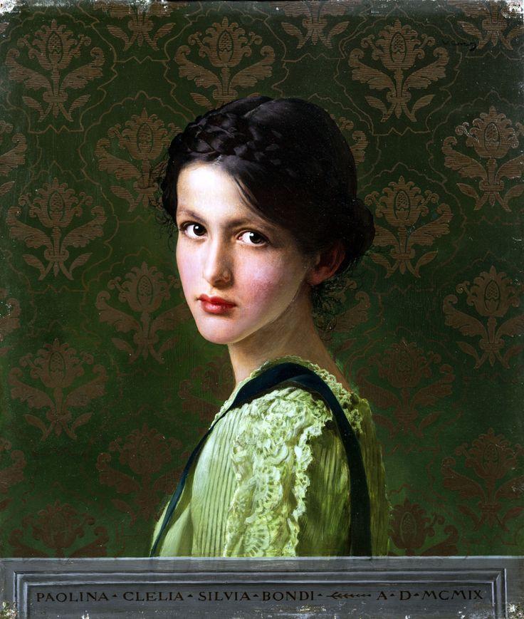 Paolina Clelia Silvia Biondi. 1909. Vittorio Matteo Corcos
