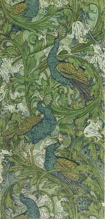 Walter Crane #Peacock